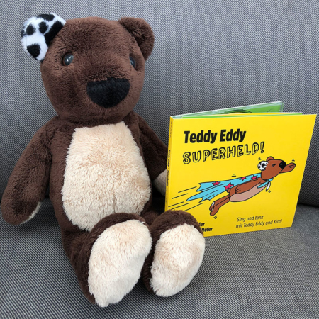 Teddy Eddy CD Superheld Set