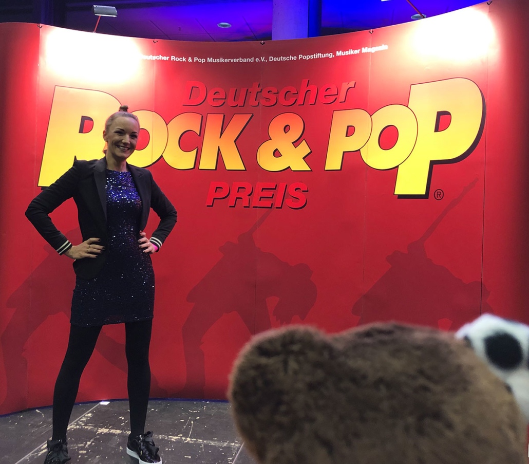 Ingrid Hofer Teddy Eddy Deutscher Rock & Pop Preis 2018