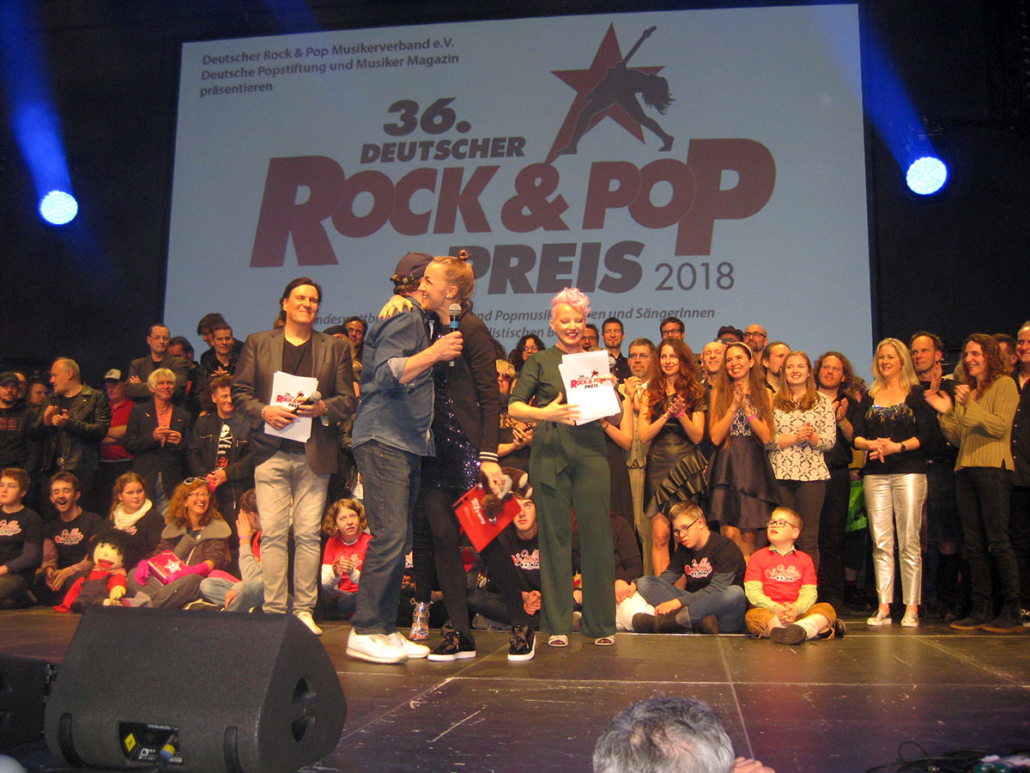 Ingrid Hofer / Teddy Eddy Deutscher Rock & Pop Preis 2018