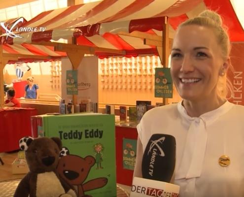 Ländle TV - Buch am Bach Teddy Eddy 25.06.2019 Ingrid Hofer