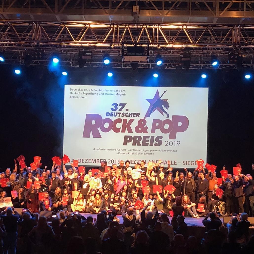 Deutscher Rock & Pop Preis 2019 Teddy Eddy
