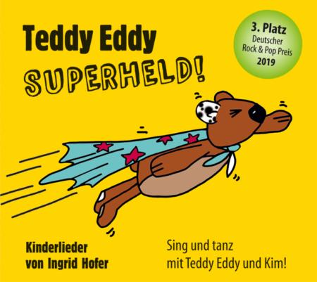 Teddy Eddy Superheld Cover Ingrid Hofer