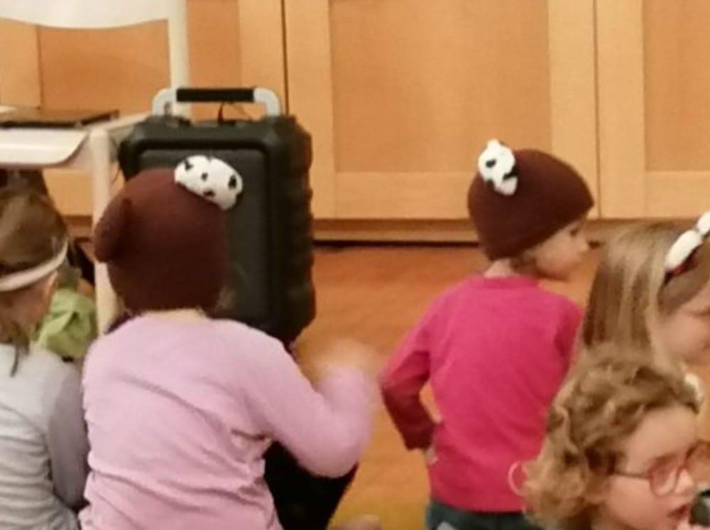 Fanpost Publikum Bärenmütze Teddy Edy