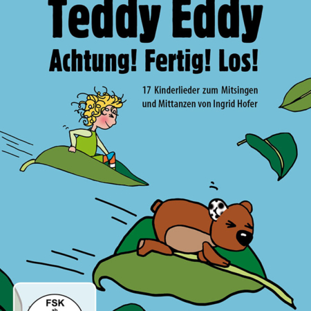 DVD Teddy Eddy Gebärdensprache Ingrid Hofer