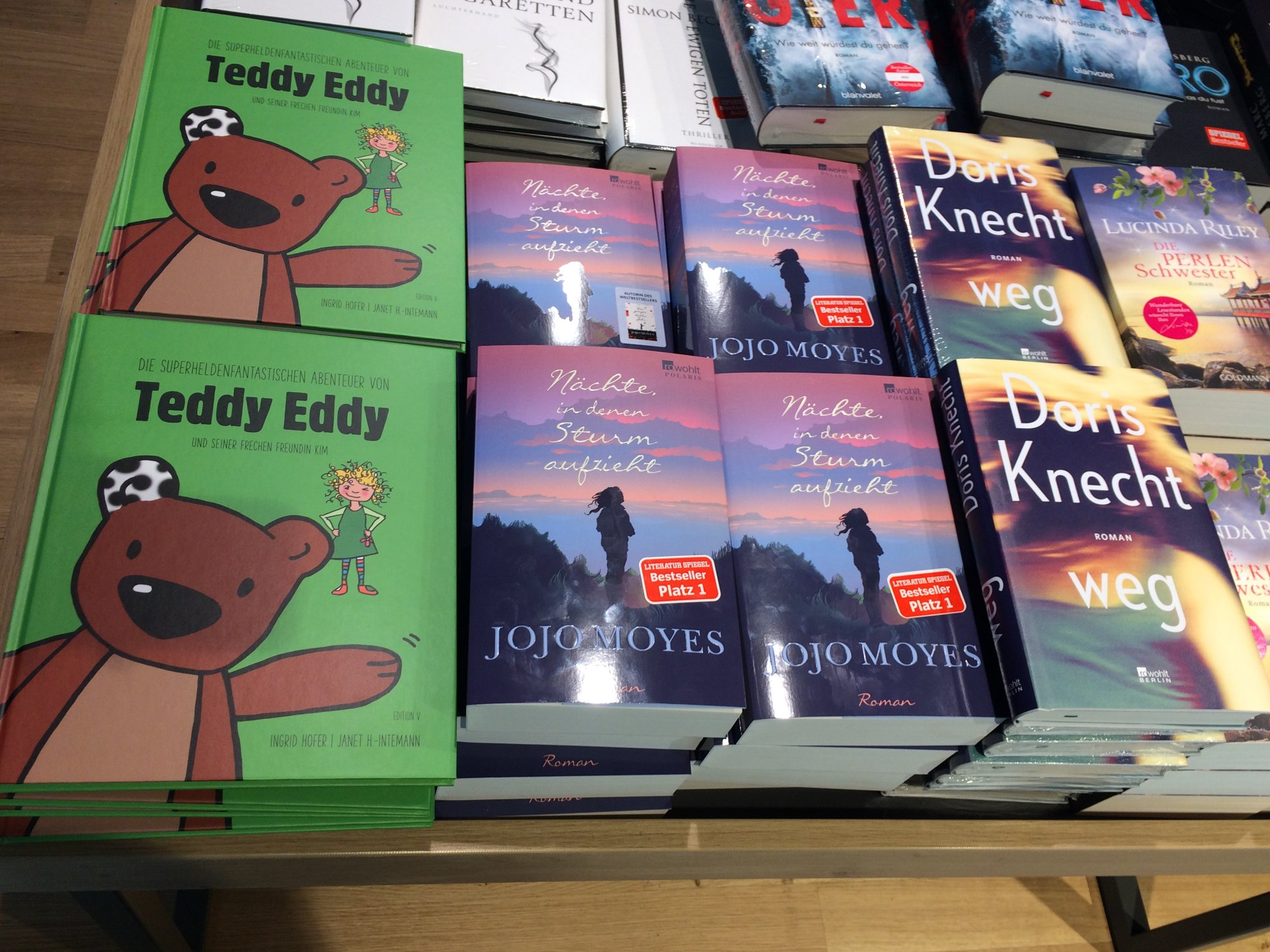 Fanpost Bestseller Teddy Eddy Ingrid Hofer