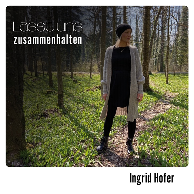Lasst uns zusammenhalten Cover Ingrid Hofer