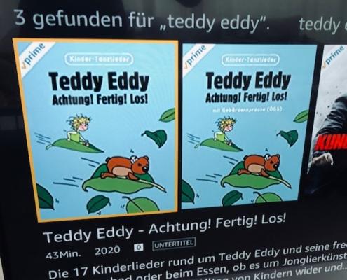 Teddy Eddy Tanzvideos auf amazon