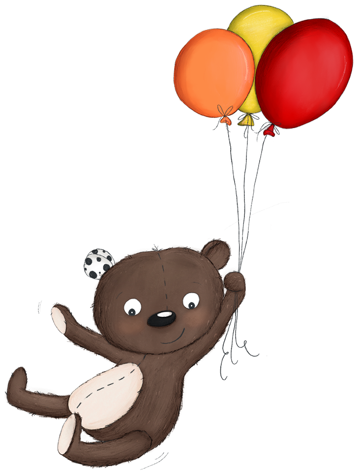Teddy Eddy Luftballons
