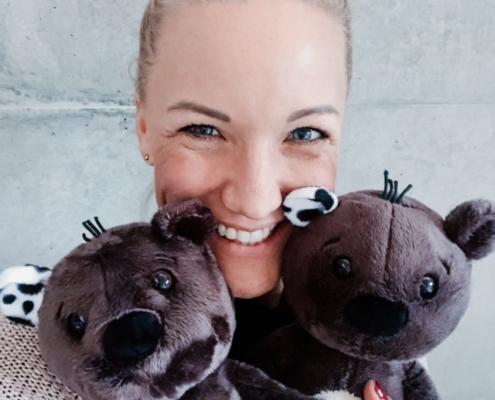 Teddybär Teddy Eddy by Ingrid Hofer